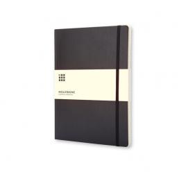 Notebook A5 cu pagini albe și copertă moale MOLESKINE