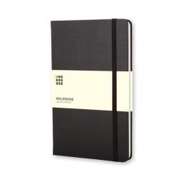 Notebook A5 cu pagini liniate și copertă tare MOLESKINE