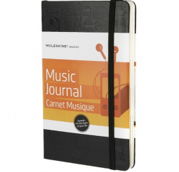 Notebook A6 Music Journal MOLESKINE