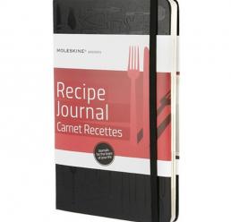 Notebook A6 Recipe Journal MOLESKINE
