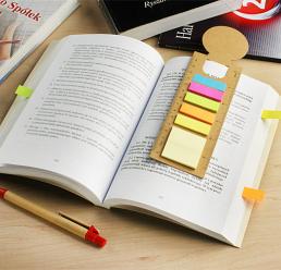 Semn de carte cu Post-it sticky notes MEMO