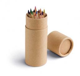 Cutie cu 12 Creioane Colorate