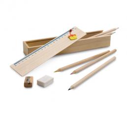 Set din lemn pentru Desen
