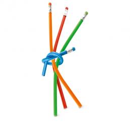 Creion Simplu flexibil cu radiera