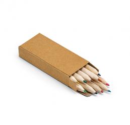 Set cu 10 creioane colorate