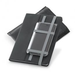 Notebook A5 cu 80 de pagini si suport pentru smartphone