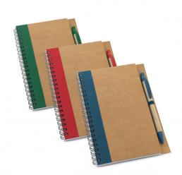 Set cu Notebook si Pix ECO