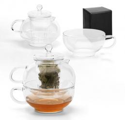 Set din sticla pentru Ceai