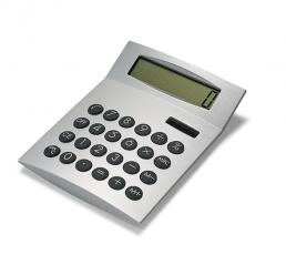 Calculator 8-digit dual power