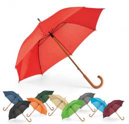 Umbrela Manuala cu maner din lemn