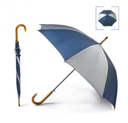 Umbrela Automata din poliester, metal si lemn