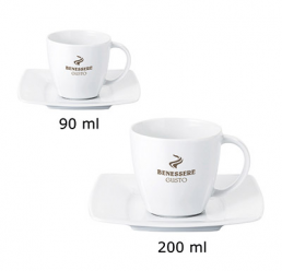 Set cana din portelan 900/200ml MANHATTAN SET