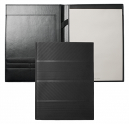 Folder A4 Trilogy Black HUGO BOSS