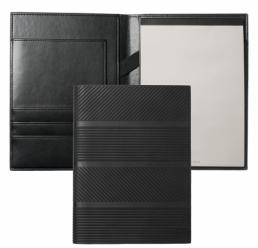 Folder A5 Trilogy Black HUGO BOSS