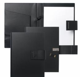 Folder A5 cu USB New Loop Black HUGO BOSS