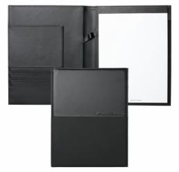 Folder A5 Caption Contrast Black HUGO BOSS