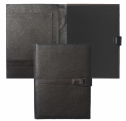 Folder A4 Pure Leather Brown HUGO BOSS