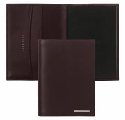 Mapa din piele pentru Notebook A7 Essential Burgundy HUGO BOSS