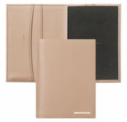 Mapa din piele pentru Notebook A7 Essential Nude HUGO BOSS
