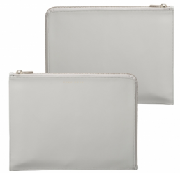 Folder A5 Verse Shell Grey HUGO BOSS