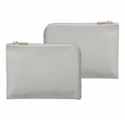 Folder A6 Verse Shell Grey HUGO BOSS