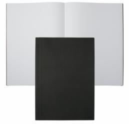 Notebook A4 Advance Fabric Dark Grey HUGO BOSS