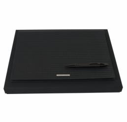 Set cu Folder A4 Fuse si Pix Fuse Black HUGO BOSS