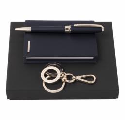 Set cu Pix, Breloc si Husa pentru Notebook A7 Essential Dark Blue HUGO BOSS