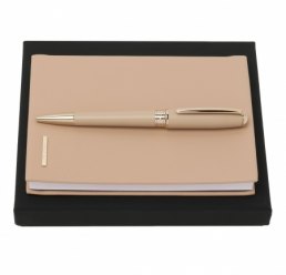 Set cu Pix si Notebook A6 Essential Nude HUGO BOSS