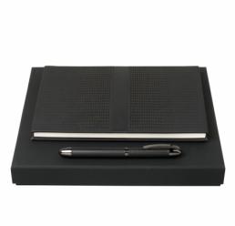 Set cu Notebook A5 si Roller Echo HUGO BOSS