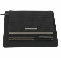 Set cu Notebook A6 si Roller Diverse Wire HUGO BOSS