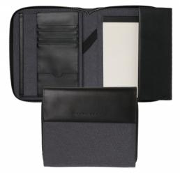 Folder  A5 Advance Fabric Light Grey HUGO BOSS