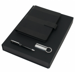 Set notepad A5, pix si stick USB Cerruti 1881