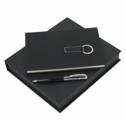 Set notepad A5, pix si stick USB Genesis Cerruti 1881