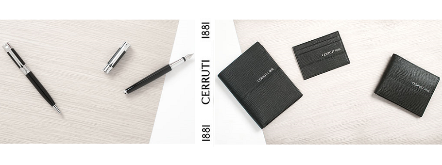 Cerruti - Materiale Promotionale de Lux: pixuri, agende, notes