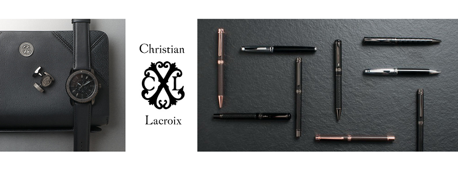 Christian Lacroix - Materiale Promotionale de Lux: pixuri, agende, notes